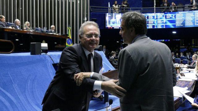 Calheiros criticou estratégia de aliados de Dilma para atrasar julgamento