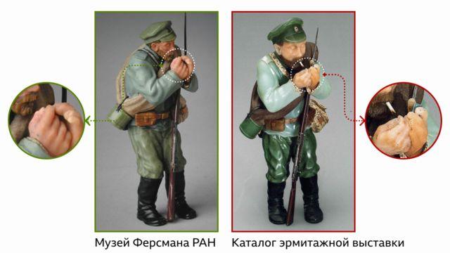 Две фигуры солдата