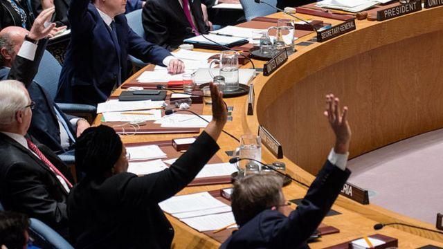 Votación en el Consejo en 2015