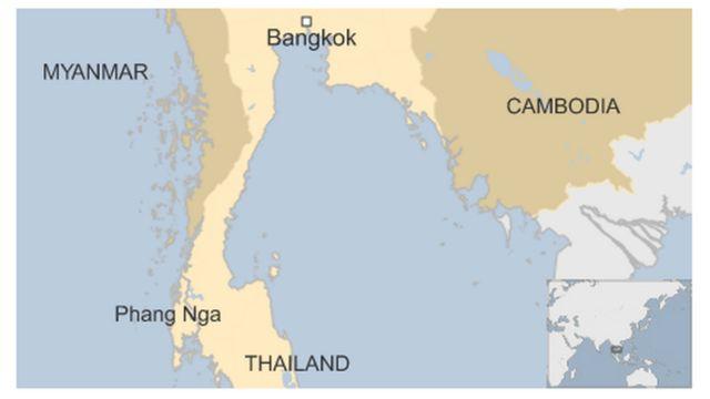シミラン国立公園はパンガー(Phang Nga)県にある