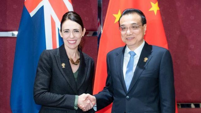 新西蘭總理傑辛達·阿德恩2019年會晤中國總理李克強