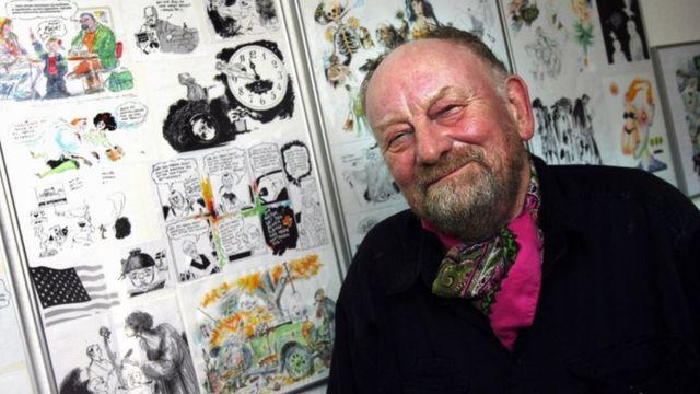 Danimarkalı karikatürist Kurt Westergaard