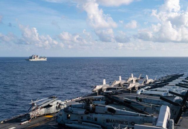 USS America.