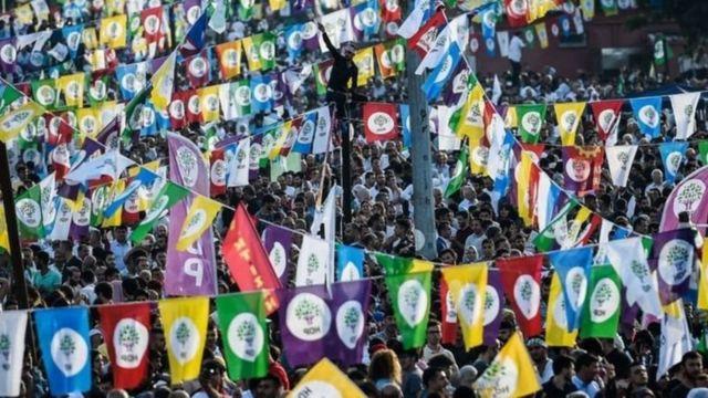 HDP'nin bir mitingi