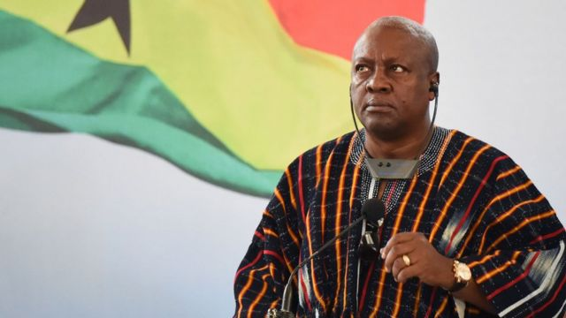 Nana Akufo-Addo ne ya lashe zaben da kaso 53