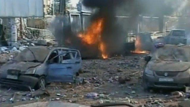 Attack on University of Aleppo