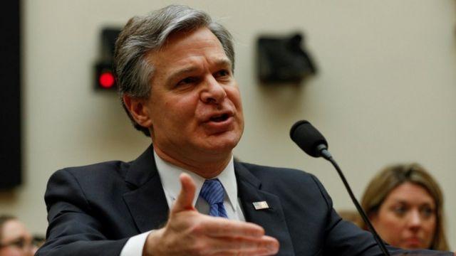美国联邦调查局局长克里斯托弗·雷(photo:BBC)