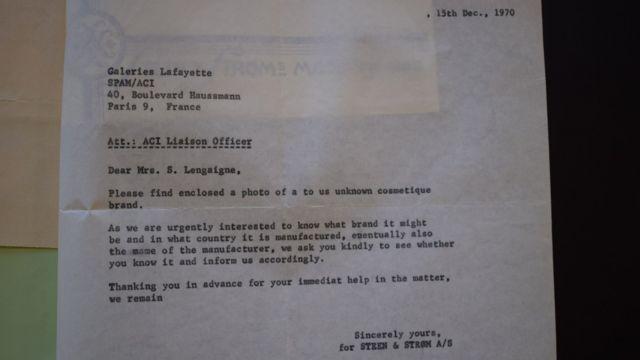 Писмо полиције генералу Ленгаигну