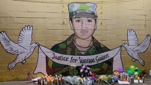 Un mural para Vanessa Guillen