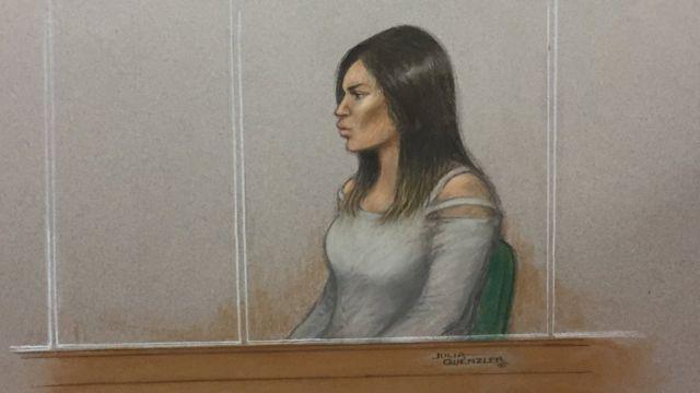 Зарисовка с суда над Булар