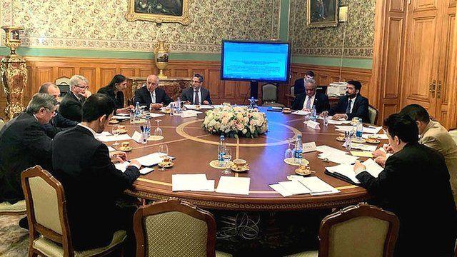نشست چهارجانبه مسکو در مورد افغانستان