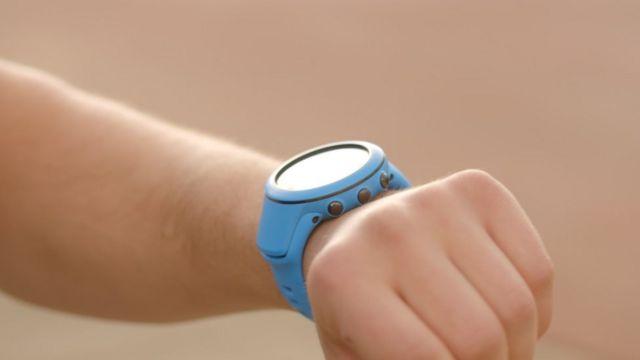 un reloj tecnológico