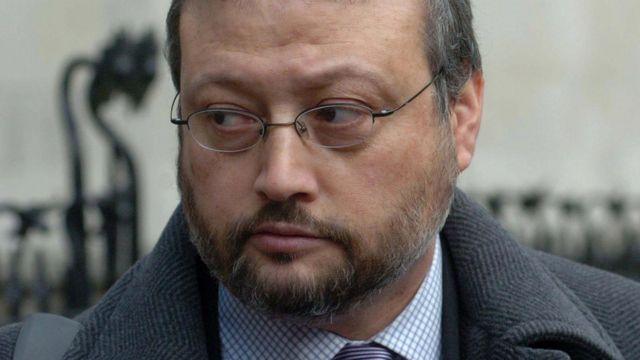 遇害的沙特记者卡舒吉(photo:BBC)