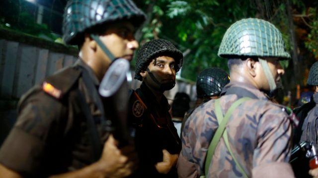 Forças de segurança de Bangladesh
