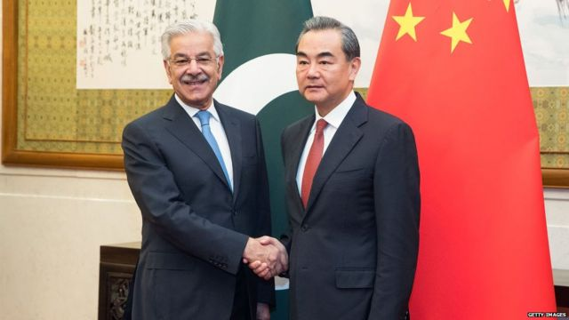 चीन आणि पाकिस्तानचे मंत्री