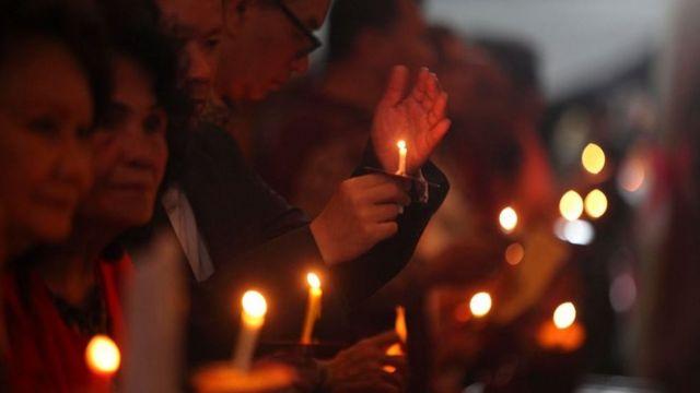 Umat Kristiani, gereja, malam natal