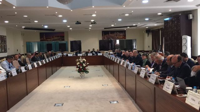 تصویری از نشست گروه بینالمللی تماس در مورد افغانستان