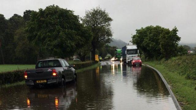 The 'monsoon' rain hitting UK business