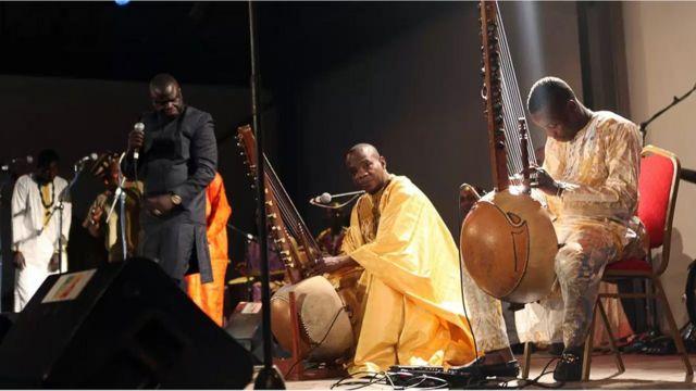 Sidiki Diabaté, auteur, compositeur et musicien malien