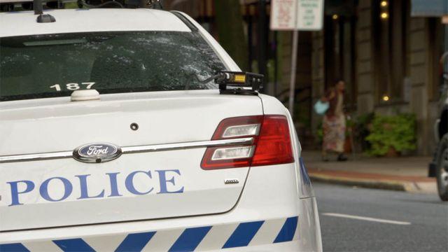 Полицейский автомобиль в США