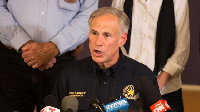 Gobernador de Texas, Greg Abbott