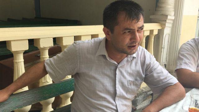 Dini Qurumlarla İş üzrə Dövlət Komitəsinin Gəncə regional təşkilatının sədri Asif Əliyev