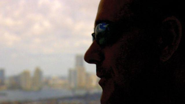 Robert Mazur, de perfil y con la cara oscurecida