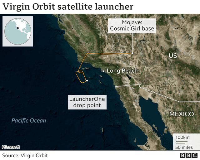 Sir Richard Branson: Virgin Orbit rocket fails on debut flight