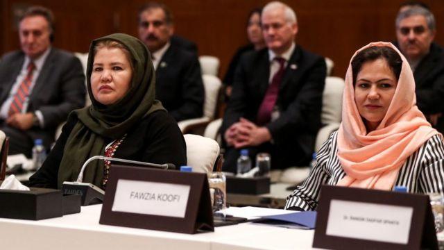 라일라 자파리와 파지아 쿠피는 탈레반과 대화할 기회가 있는 여성이었다