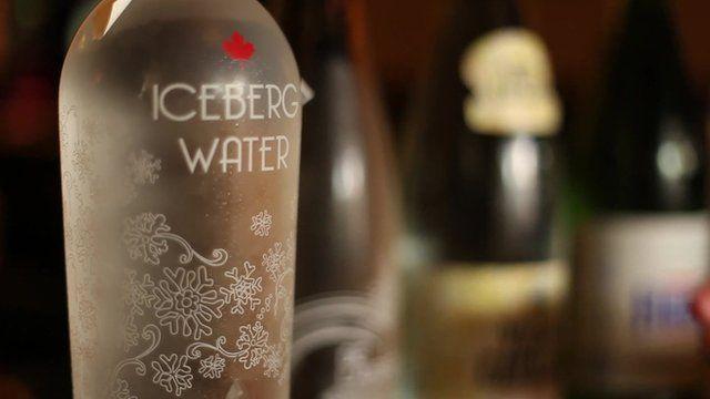 Bottle of Iceberg Water
