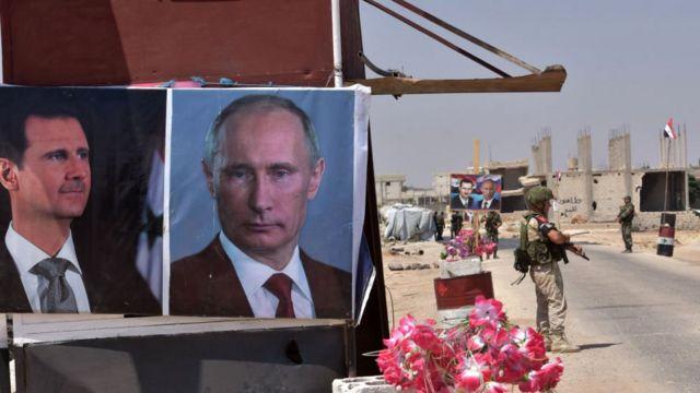 Putin ve Esad