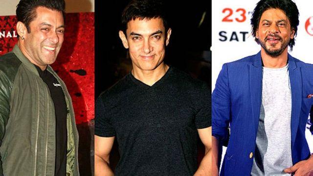 सलमान ख़ान, आमिर ख़ान, शाहरुख ख़ान