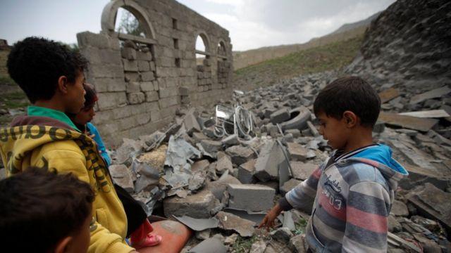 children in Sanaa