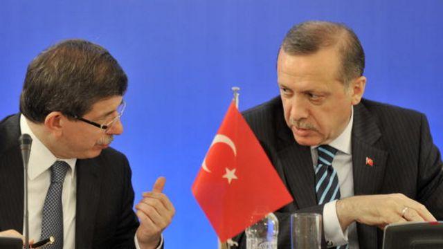 Davutoğlu ve Erdoğan