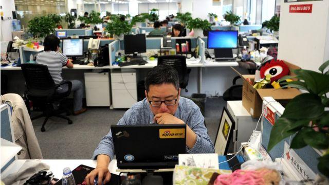 Офіс у Китаї