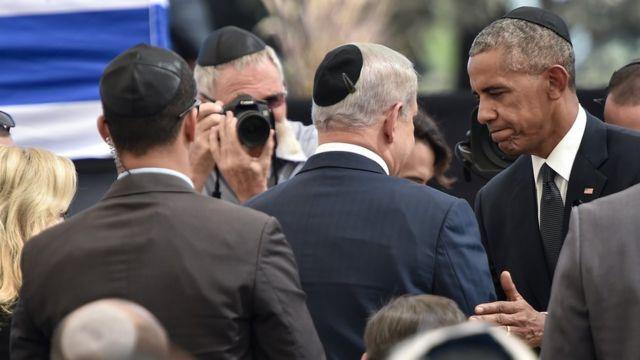 باراک اوباما، بنیامین نتانیاهو