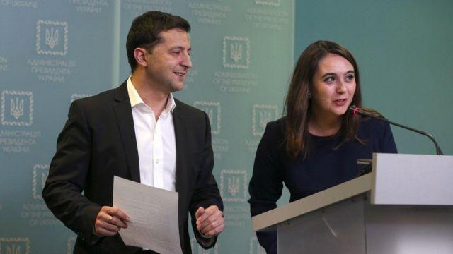 Юлія Мендель йде з посади прессекретарки Зеленського