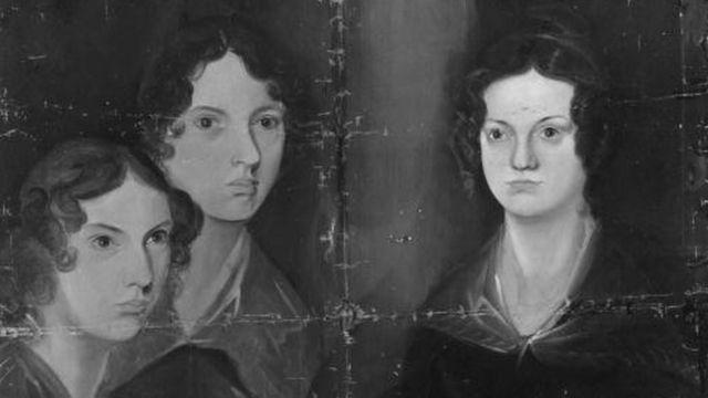 Las hermanas Bronte en un retrato pintado por su hermano