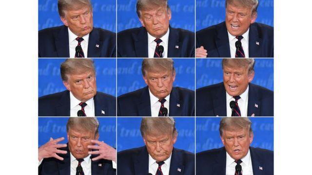 матрица эмоций трампа
