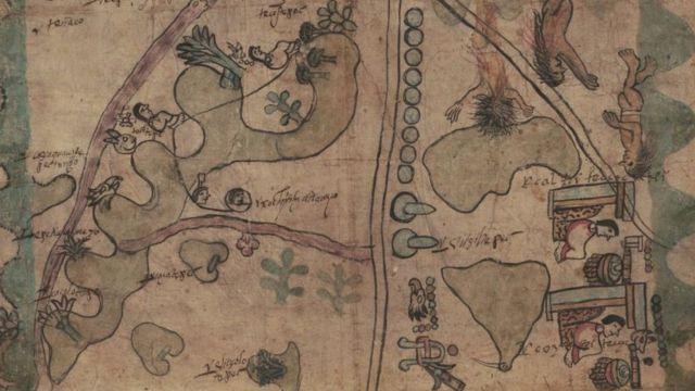 Detalle del Códice de Quetzalecatzin.
