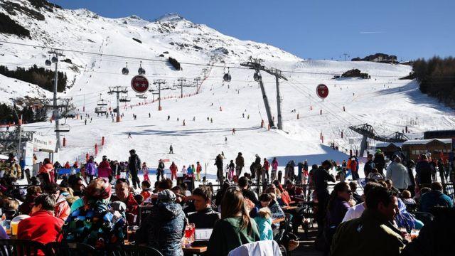 Гірськолижний курорт у Франції