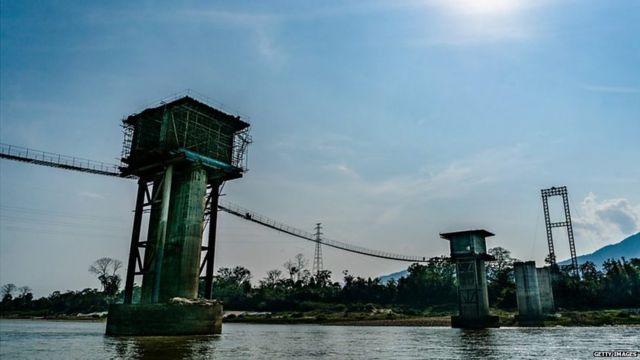 म्यांमार ने साल 2011 में चीन के साथ मितसोन बांध परियोजना को रद्द कर दिया था