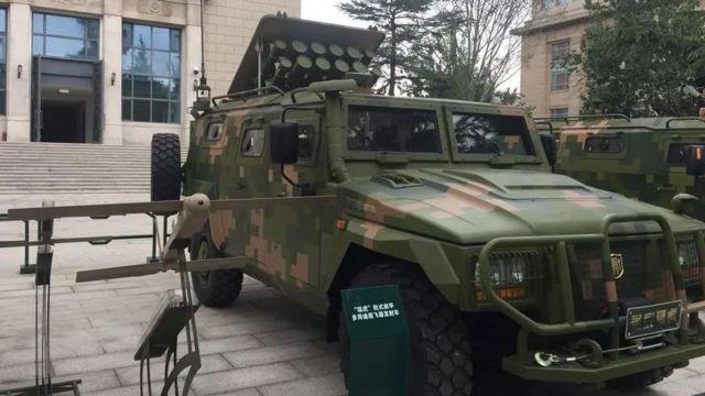 autos ejército China