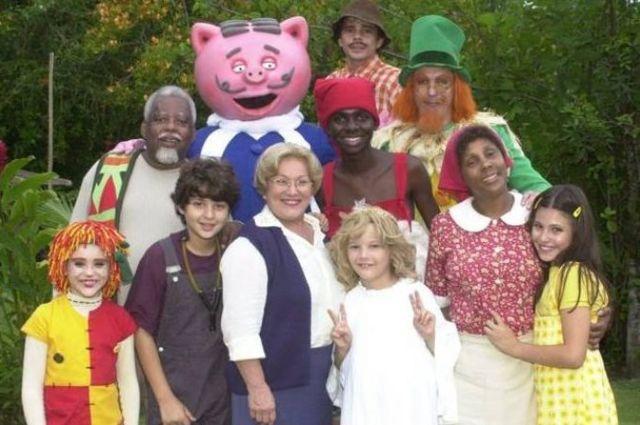 Imagem de divulgação da série do Sítio do Picapau Amarelo, remake dos anos 2001 a 2007