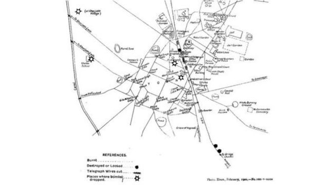 पाकिस्तानः जब गुजरांवाला के लोगों पर ब्रितानी जहाज़ों ने बम बरसाये