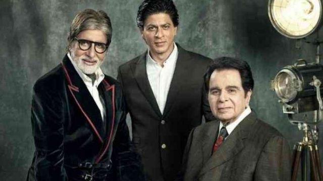 Amita da Shahrukh Khan da Dilip Kumar
