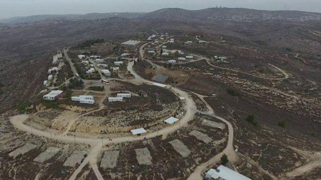 পশ্চিম তীরে ইসরায়েলের একটি নতুন বসতি
