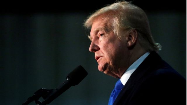 المرشح الجمهوري للرئاسة الأمريكية