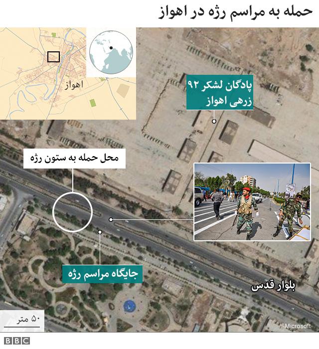 نقشه محل حادثه
