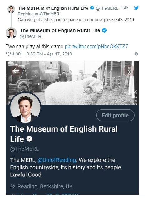 Твиты музея